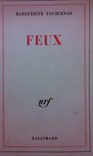 Marguerite Yourcenar, feux, lecture